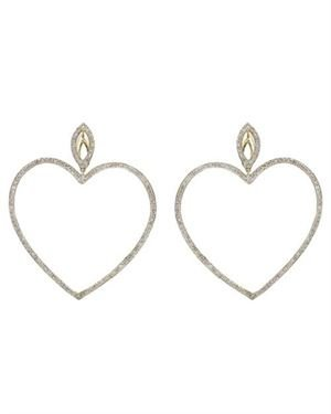 1.5 CTW Diamonds Ladies Earrings Designed In 14K Yellow Gold $639