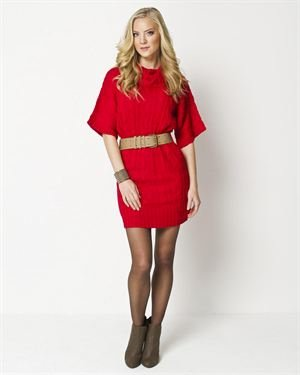 ROCK Knitted Loose Sleeve Dress $25
