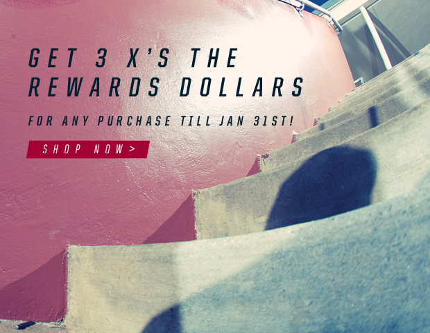 Get 3 times the reward dollars