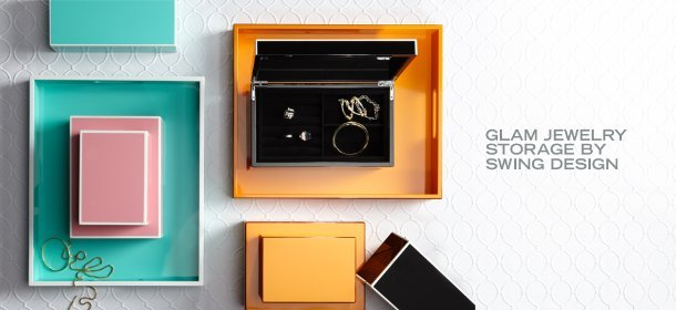 GLAM JEWELRY STORAGE BY SWING DESIGN, Event Ends January 23, 9:00 AM PT >