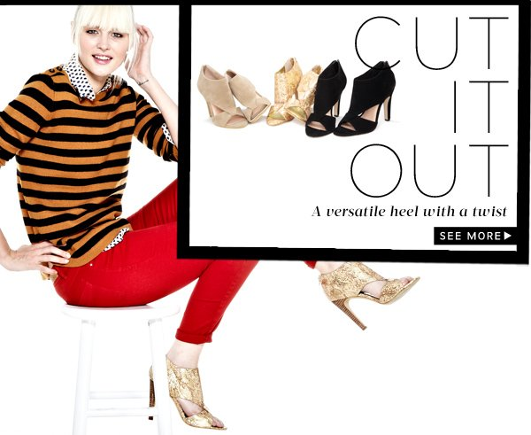 Cut It Out - A versatile heel with a twist