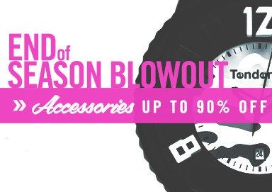 Shop End of Season Blowout: Accessories