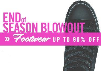 Shop End of Season Blowout: Footwear