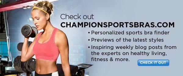 Check out ChampionSportsBras.com