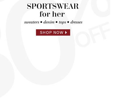 Sportswear for her. Shop now