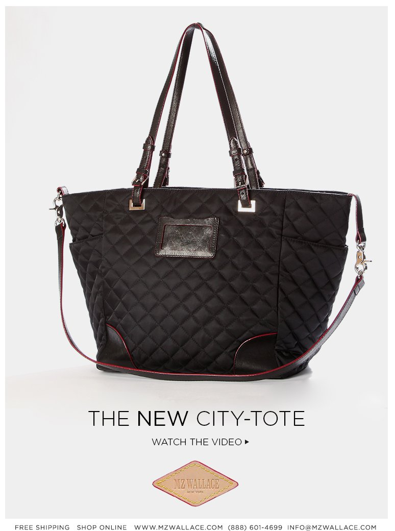 The City Tote, New for SS13.