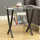 Cappuccino Bentwood Magazine Table