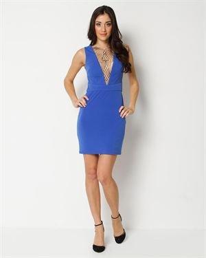 Kimikal Lace Inset Dress