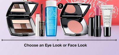 Choose an Eye Look or Face Look