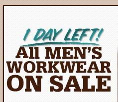 All Men's Workwear On Sale