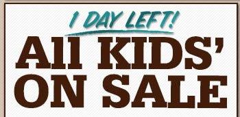 All Kids' on Sale