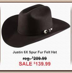 Justin 6 X Spur