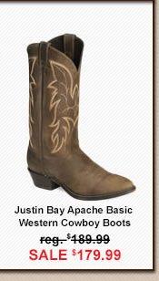 Justin Bay Boot Image