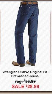 13MWZ Pre-Wash Jean