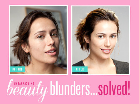 Embarrassing Beauty Blunders...Solved!