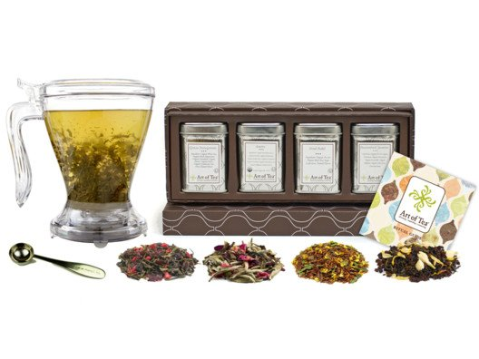 Each set has been thoughtfully put together with all you need for delicious, aromatic tea.