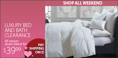 Luxury Bed & Bath Clearance