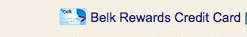 Belk Rewards Credit Card