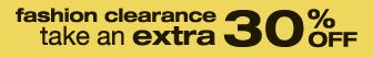 fashion clearance | take an extra 30% OFF