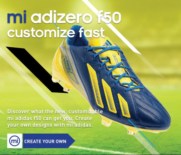 Create Your own mi adizero f50 »