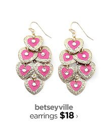 betseyville earrings $18 ›