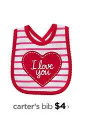 carter's bib $4 ›