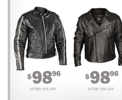 New Motorcycle Jackets - $98