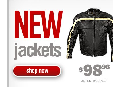 New Model Jackets - 10% Off