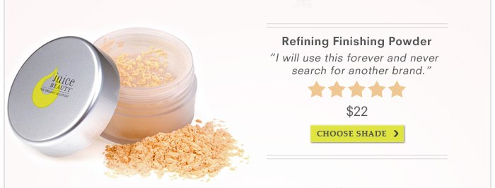 Refining Finishing Powder