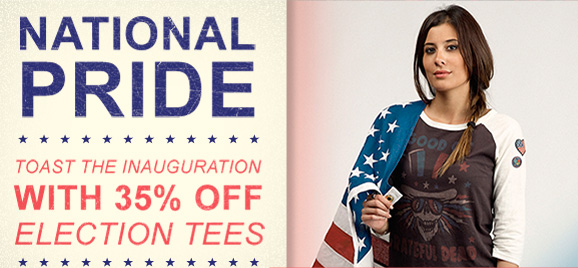National Pride. With 35% Off