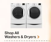 SHOP ALL WASHERS & DRYERS