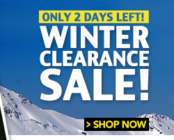 Only 2 Days Left - Winter Clearance Sale
