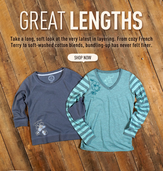 Shop All New Women's Long Sleeve Tees