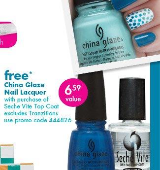 free* China Glaze Nail Lacquer