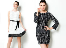 In Black and White Must-Have Spring Dresses