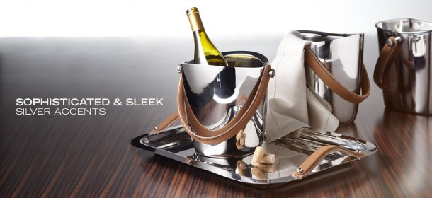 SOPHISTICATED & SLEEK: SILVER ACCENTS, Event Ends January 24, 9:00 AM PT >