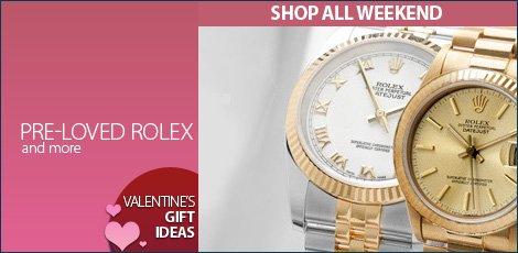 Preloved Rolex & more