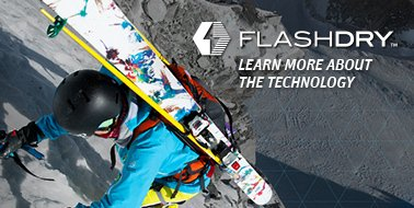 FLASHDRY™ LEARN MORE ABOUT THE TECHNOLOGY