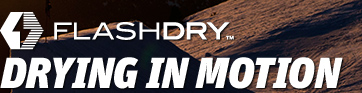 FLASHDRY™ DRYING IN MOTION