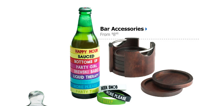 Bar Accessories From $8.95