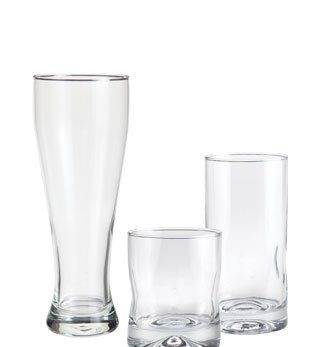 Pilsners & Tumblers From $2.50