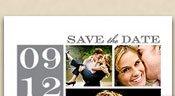 Big News Photo Save the Date Postcard