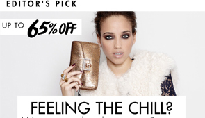 SHEARLING COATS UP TO 65% OFF