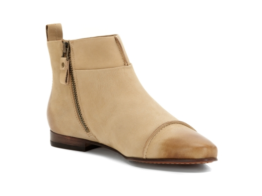 Ankle booties aren't limited to winter--this is one of the hottest looks for spring paired with dresses and jeans...