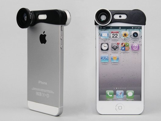 Shoot pics and record video like a pro with the Yamamoto 3in1 Lens Kit for iPhone 5