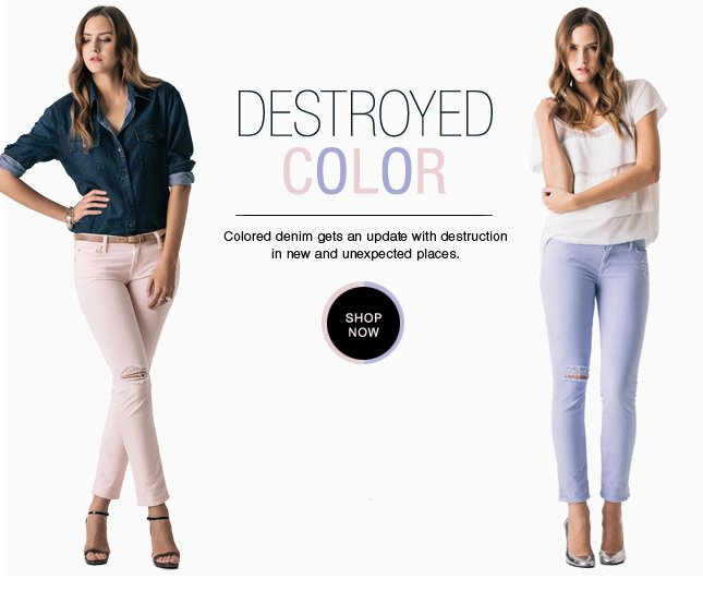 Trend Watch: Destroyed Color