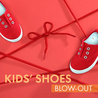 Kids' Shoes Blow-Out Sale