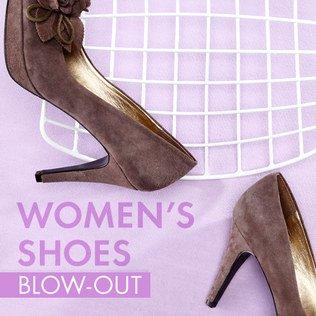 Women's Shoes Blow-Out Sale
