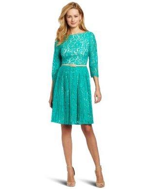 Eliza J <br/>  Lace Dress with Pleats