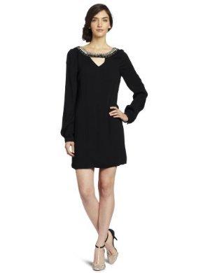 Twelfth Street <br/>  by Cynthia Vincent <br/> Drop Back Embellished Shift Dress